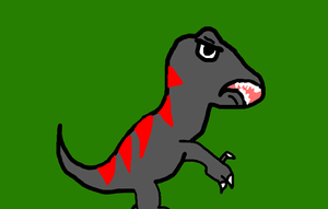 Lame ass dinosaur by MyLittleRoseluck