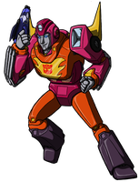 TF- Hot Rod by RustedRabbit