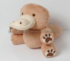 Platypus plush::::: by Witchiko