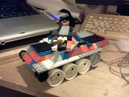 lm-1 light tank (type 1 turret) by ace00004