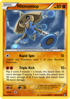 TheAlphaRanger Fake Cards 237/718: Hitmontop by TheAlphaRanger