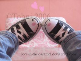 Converse Love by Bees-In-The-Caramel