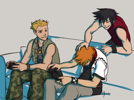 KH - Video Games by yinza