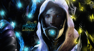 Sci Fi Women by MDesignInc