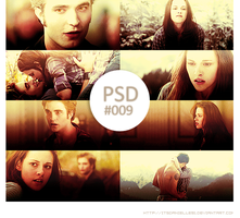 New Moon PSD #009 by itsdanielle91