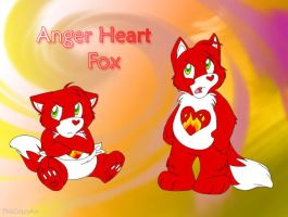 Anger Heart Fox by ThisCrispyKat