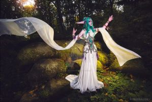 [Tyrande Whisperwind] by lady-narven