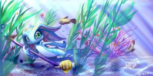 Fizz: Under the Sea by Kayumisaur