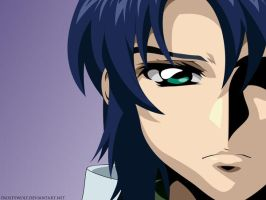 Dark Shadow - Athrun Zala by FrostyWolf