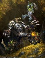 Worgen vs. Goblins by Arsenal21