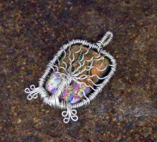 Fused Glass Tree of Life by Create-A-Pendant