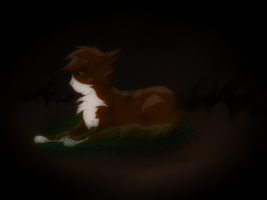 Leafpool .:Alone:. by Bast-The-Cat-Goddess