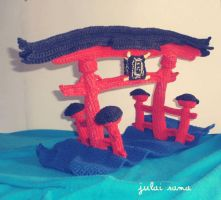 Torii Temple by Tofe-lai