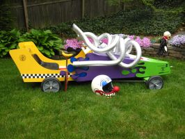 Killer Klown Soap Box Derby Car by thepapierboy