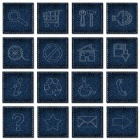 Jeans style web UI icons by emperorwarion