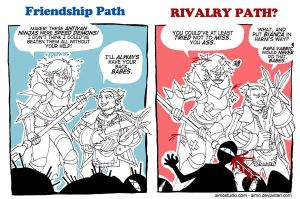 DA2 - Friends and Rivals by aimo