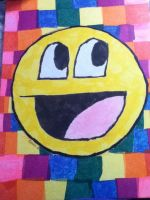 MY awesome face :D by Waterbender1996