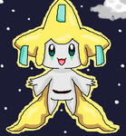 Pokemon: A Starry Night with Me! (Jirachi) by GoPatchy