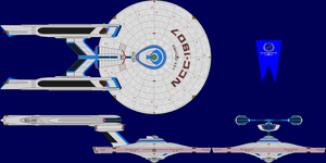 USS Explorer Multi-View by captshade