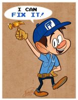 Fix It Felix by happydoodle
