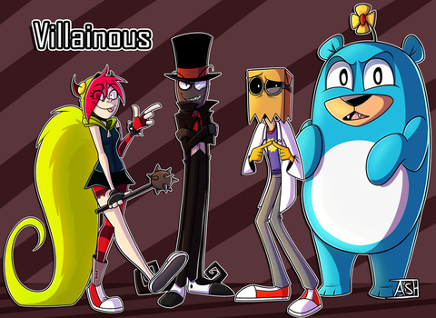 Villainous by Ashesfordayz