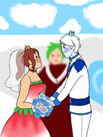 The Wedding Has Started by MissSnowBell