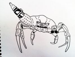 Wepons Crab by AnnieHoppe