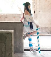 Stocking Anarchy - Angel ver., from PSG by AishaCain