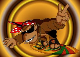 Funky Kong by Morote