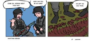 Call of Duty comic by DarkCloak