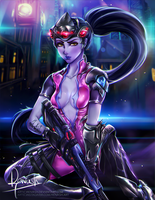 Widowmaker - Overwatch by Reivash