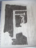 Charcoal Doorway by naaxha