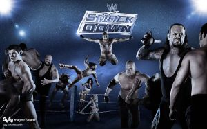SMACKDOWN GO TO SYFY by HARDTAKER