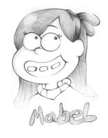 GF - Mabel portait by AnimezingArtist