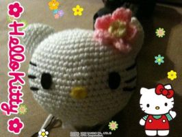 hello kitty amigurumi by nikianime