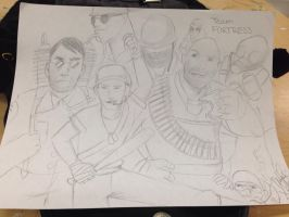 Team Fortress 2 Fan art by Toot-Scoots