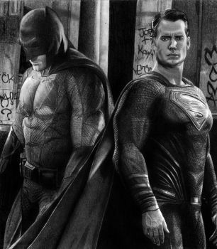 Batman v Superman by SmoothCriminal73