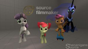 CMC And Nightmare for SFM {WIP} by BlackArmsGeneral