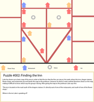 Puzzle #002: Finding the Inn by selene411