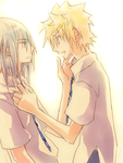 RikuRoku? : Riku Skrew You by illbewaiting