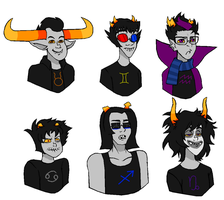 Troll dudes by ThePsychoSloth