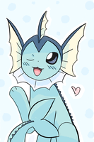 Vaporeon by AnySketches