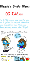 Smurfy Double Meme by Shini-Smurf