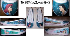 The Little Mermaid Shoes by dzzyblnde