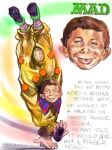 Alfred E Neuman MAD Character by drewcampiondrew