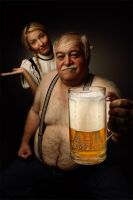 heidi and grandfather . . . 8 by mehmeturgut
