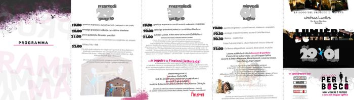 Flyer epilogo Lumier ORIZ by DogonReview