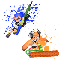 Splatoon. BECAUSE ITS FOR KIDS. by MMDCousins