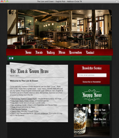 The Lion and Crown: Web Design by Two11Media