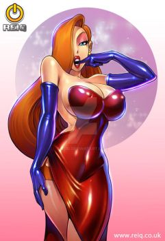 Jessica Rabbit by reiq